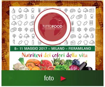 Nutritevi dei colori della vita a Tuttofood 2017